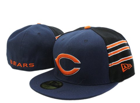 Chicago Bears NFL Fitted Hat YX12